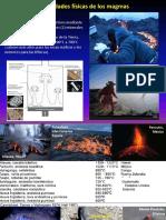 Propiedades Físicas de Los Magmas