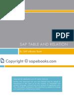 SEBK101800 SAP Tables Relation V1