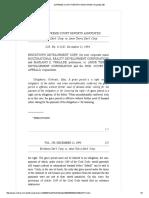 Bricktown Development Corporation vs Amor Tierra Development Corporation (239 SCRA 126)