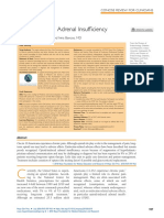 Opioid-Induced Adrenal Insufficiency