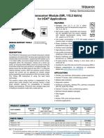 TFDU4101 IRDA Transceiver - Vishay