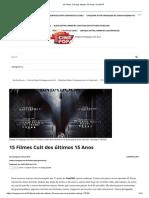 15 Filmes Cult Dos Últimos 15 Anos _ CinePOP