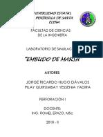 Viscosimetro de Marsh-Informe de Laboratorio (1)