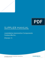 Supplier Manual VACCV