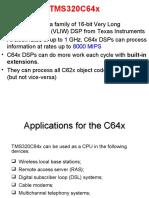 Tms320c64x Architecture