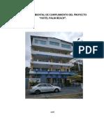 Info Ambiental Cumplimiento Hotel Palm Beach 2018