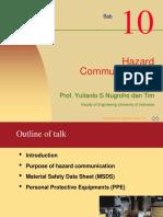 K3L Bab#10 Hazard Communications