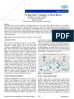 Applicability of Big Data Techniques to Smart Home