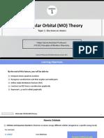 1 MO Theory Topic 1