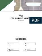 Ceiling Panel Model a 300x1200_36w