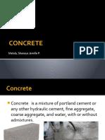 Concrete No. 1