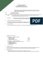 Kurikulum Pelatihan Op Sistem Air Utama ( Air Pengisi Dan Air Penambah )