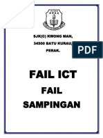 Muka Depan Fail Ict