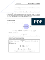 Linear Algebra Assignment Solution