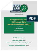Security Intelligence in Action Sans Review