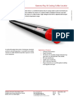 PIT Datasheet Gamma Ray Casing Collar Locator