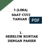 5 CUCI TANGAN