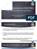 Intro to ISO 27001