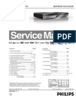 Philips BDP 9600 Service Manual