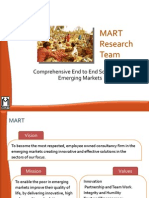 Introduction to MART Research Team