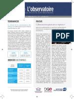 Observatoire de la petite entreprise n°71 FCGA – Banque Populaire