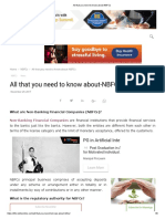 All That You Need to Know About-NBFCs