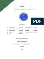 Analisis Time Series Forecasting Data Keuangan