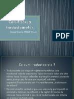 Clasificarea traductoarelor