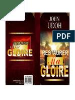 Restaurer Ma Gloire John Udoh