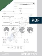 Matemáticas,Tema 5, Actividades de Refuerzo