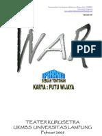 War - Putu Wijaya