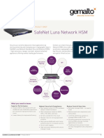 Safenet Luna Network Hsm Product Brief