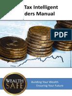 The Tax Intelligent Traders Manual