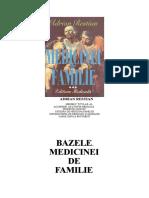 Restian Bazele Mededicinei de Familie a.restian Vol3 2003