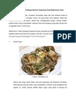 10 Makanan Khas Surabaya Beserta Tempatnya Yang Wajib Kamu Coba