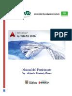 AutoCAD 2016 - Manual Del Participante