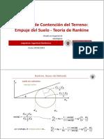Tema 2b.- Sistemas de Contencion Del Terreno_Rankine
