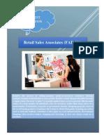 Retail Sales Associates Urdu
