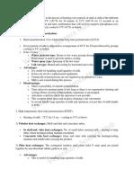 Various Methods of Pasteurization