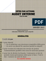 Audit Interne Utile Ou Non Spa