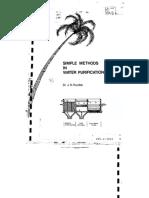 Simple Method in Water Purification (Dr. J.N. Kardile)