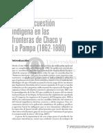 Estado y cuestión indígena en las fronteras del chaco y la pampa 1862-1880