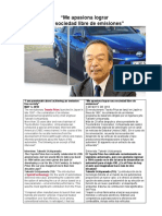 Takeshi Uchiyamada Sociedad Sin Emisiones