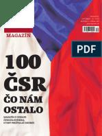 100 rokov ČSR - publikácia Denníka N