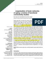 Sala Llonch 2015 Reorganization of Brain Netwo