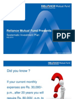 Introduction to Systematic Investment Plan (SIP) Presented by Reliance Mutual Fund
