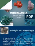 Aula 01 - Mineralogia Geral