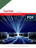 Sandisk sudden power loss protection whitepaper