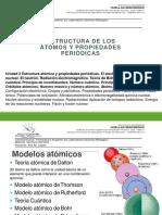 ESTRUCTURA DE LOS ÁTOMOS Y PROPIEDADES PERIÓDICAS
