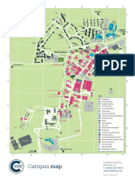 Cranfield University Campus Map